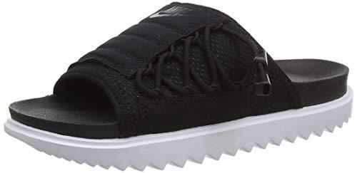 Nike Damen WMNS Asuna Slide Gymnastikschuh, Black Anthracite White, 38 EU