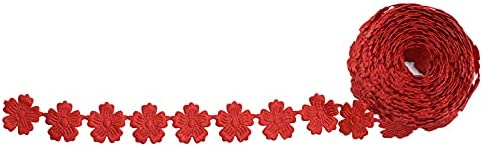 Max 57% OFF JXHYKJ 5 High order Yard Flower Lace Trim Small Ribbon Daisy Embellishment