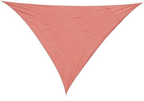 wuquansy Sombra Triangular Impermeable a Prueba de Agua Anti-UV de Alta Densidad-Red_6*6 * 6m