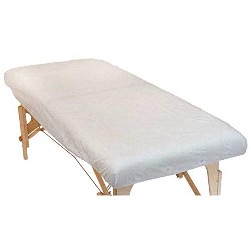 10pieza desechables de–Sábana bajera ajustable, tamaño XL, para camilla de masaje (190x 91x 15cm), práctica requisitos, Higiene sábana bajera, Higiene funda de vellón,