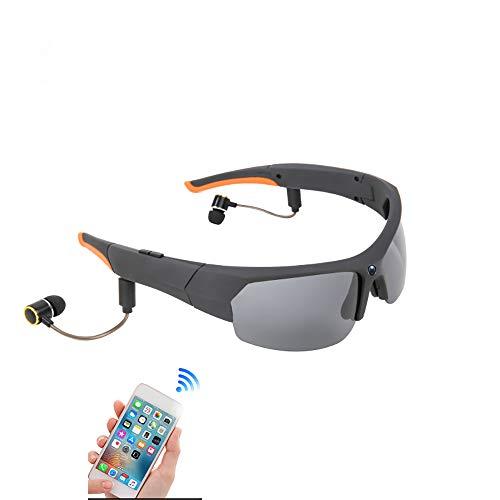DTTKKUE Gafas Sol inalámbrica Inteligente HD 1080P