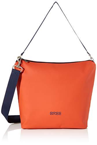 BREE Unisex-Erwachsene PNCH 701 cross shoulder bag S Umhängetasche, Orange (Pumpkin), 12x30.5x30 cm