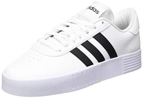 adidas Court Bold, Zapatillas Mujer, FTWR White/Core Black/FTWR White, 39 1/3 EU