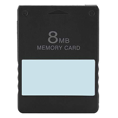Annjom Professionelle Hochgeschwindigkeitsspeicherkarte für PS2, Datenretter für Speicherkarten mit Stabiler Leistung für PS2, MCboot-Speicherkarte(8M FMCB)