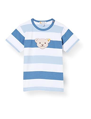 Steiff Baby-Jungen T-Shirt, Coronet Blue, 074
