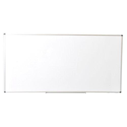 届け先法人限定 オフィスコム ホワイトボード 壁掛け 無地 1800×900mm マーカー付き OC-WB1890W