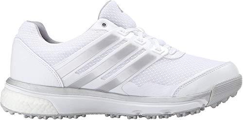 adidas Damen W Adipower S Boost II Spikeless Golfschuh, Weiá (FTWR Weiß/Matt-Silber/Wild Orchidee TMAG), 38 EU