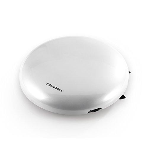 CLEANmaxx 06413 Leistungsstarker Saugroboter mit sensorgesteuerter Navigation | Bodensauger | inkl. Fernbedienung