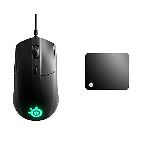 mouse pad steelseries SteelSeries Rival 3 Mouse Da Gioco