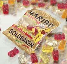 1x Haribo GOLDBÄREN - Süßigkeiten, Nahrungsmittel