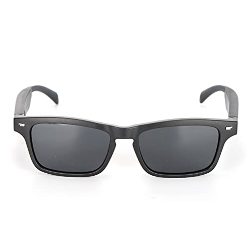 CUTULAMO Gafas, Diseño De Altavoz Dual 5.0 Tecnología Gafas Anti-Azules para Uso De Conducción(Luz polarizada)