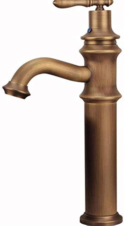 Fauceteuropean stil kupfer retro art basin passenden wasserhahn heien und kalten wasserhahn über gegenbecken wasserhahn