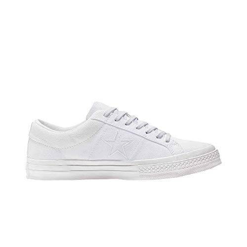 Converse Chuck Taylor All Star Unisex Canvas Schuhe mit 7kmh Aufkleber Weiss 9623 41