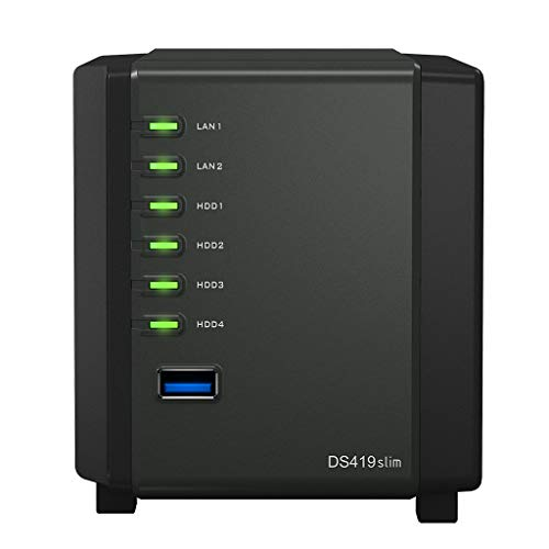 Synology Synology DiskStation Tuner: 19slim NAS-server