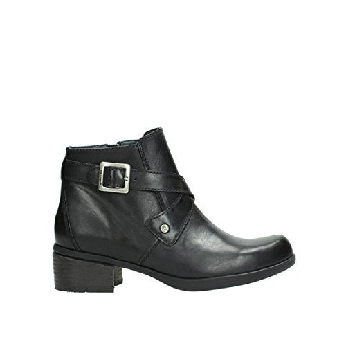 Wolky Damen Stiefeletten Vecchio 137530002-Vecchio schwarz 394179
