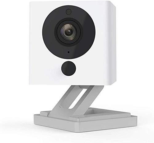 SmartCam Twin Pack | Cámara de seguridad funciona con Alexa 1080P Full HD visión nocturna 2 vías Audio Smart Camera | Juego de 2 piezas