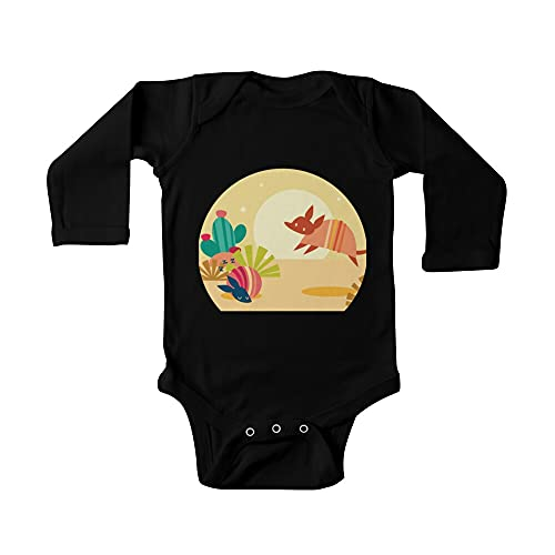 Happy Armadillos bebé de una pieza