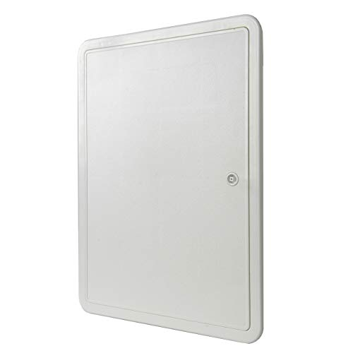 La Ventilazione SI3040B Puerta de inspección de plástico ABS, Color Blanco, 335x435 mm