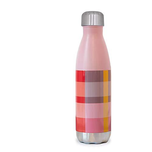Remember Unisex– Erwachsene Silk Trinkflasche, Bunt, Höhe 26,5 cm, Ø 7,1 cm, Inhalt: 500 ml