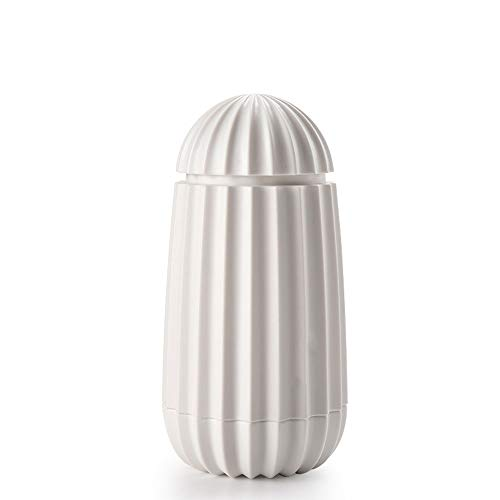 Pwofrg Tandenstoker Box Persoonlijkheid Creative Push Type automatische pop-up High-end Household Wattenstaafje Box Barrel High Value Beauty tandenstoker (Color : White)