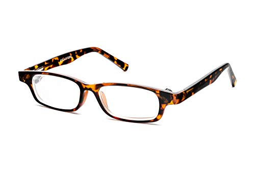 Eyejusters Self-Adjustable Glasses, Oxford Edition, Tortoise
