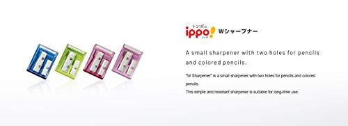 トンボ鉛筆ippo!WシャープナーKSA-121色込