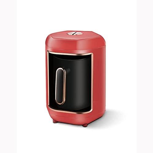 600 W automatyczny ekspres do kawy bezprzewodowy elektryczny dzbanek do kawy Food Grade Moka Czajnik do kawy przenośny (kolor: czerwony) (czerwony)