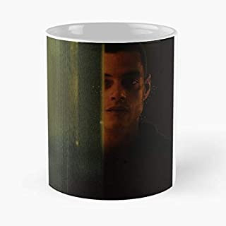 Mr Robot Rami Malek Mrrobot - Morning Coffee Mug Ceramic Novelty, Funny Gift