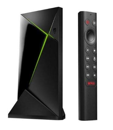 NVIDIA ゲーミングセットトップボックス Shield TV Pro | 4K HDR Streaming Media Player, High Performance, Dolby Vision, 3GB RAM, 2X USB, Compatible with Alexa