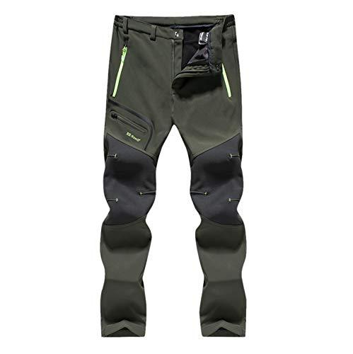 Cerlemi Herren Camping Wandern warme Dicke Hosen Jogger Pants Streetwear Vintage Sporthose Jogginghose Freizeithose Wanderhose Chinohose Trekkinghose Freizeithose