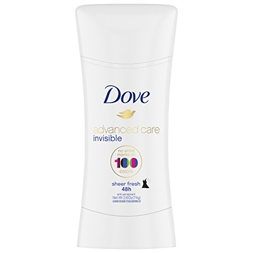 Dove Invisible Advanced Care Antiperspirant Deodorant, Sheer Fresh, 2.6 Ounce
