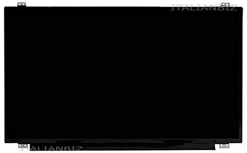 Schermo display LED 15.6' slim 30 pin compatibile per Asus X542UA-GQ266T (90NB0F23-M03230), X542UA-GQ440 (90NB0F22-M14170), X542UA-GQ440R, X542UF-GQ, X542UN-GQ, X542UN-GQ033T, X542UQ-GO, X542UQ-GQ