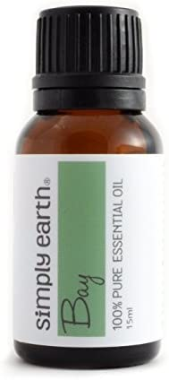 Bay Essential Oil (Laurel Leaf) by Simply Earth - 5 ml, 100% Pure Therapeutic Grade