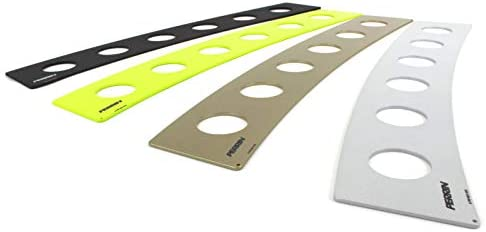 Window Louvers PERRIN Window Vents one Pair NEON Yellow fits ...