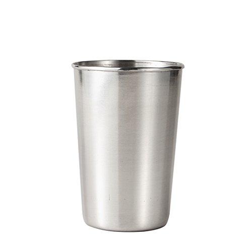 FANZHOU Vasos de Acero Inoxidable Vasos Vasos de Metal irrompibles