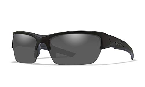 Wiley X Schutzbrille von WX, Unisex, Sonnenbrillen, Wx Valor, Matte Black/Smoke Grey/Clear/Light Rust