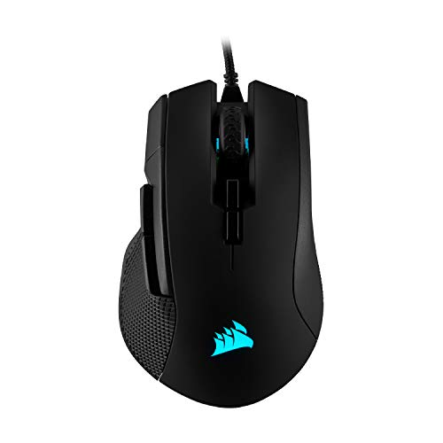 Corsair IRONCLAW RGB Gaming Mouse, Wired, Backlit RGB LED, 18000 DPI, Optical - CH-9307011-NA