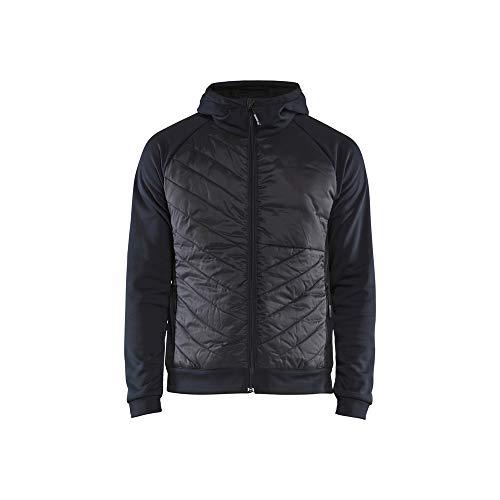 Blaklader 3463252686994XL Sweat-shirt hybride Bleu marine/noir Taille 4XL