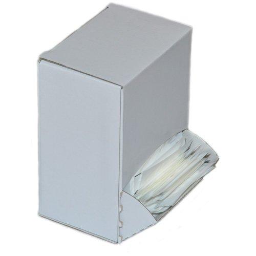 DENTAMIN® Zahnstocher 500er Box weiß einzeln hygienisch verpackt