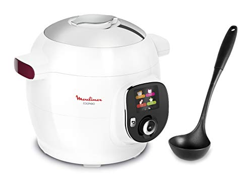 Moulinex Cookeo+ Multicooker Intelligent 100 ricette, Mestolo e Programma Weight Watchers Inclusi...