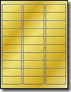 image about Printable Gold Foil named : Gold - Laser Inkjet Printer Labels / Labels