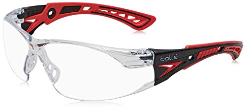 Bolle RUSH+CLEAR Clear Lens Safety Glasses