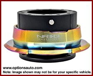SRK-280BK-MC Nrg Quick Release Gen 2.8 - Black Body/Neochrome Ring