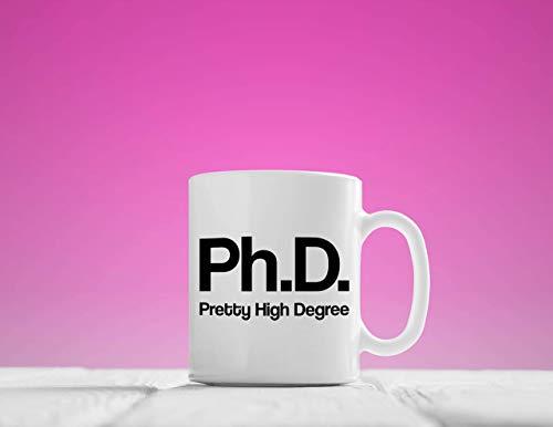 N\A Ph.D, PhD, Taza de Grado Bastante Alto, Taza de Grado Bastante Alto, Taza de café de Doctor, Taza de Doctor, Taza de Doctor, Regalo de Doctor, Taza de doctorado, doctorado Mu