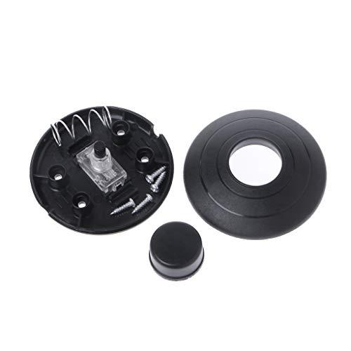 Lamdoo Interruptor de Empuje de Pedal de Control de Encendido y Apagado de luz en línea para Interruptor de iluminación LED de lámpara