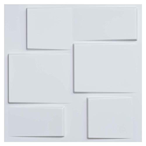 Art3d Architectural 3D Wall Panels Textured Design Art Tiles 2.97 Sq Meter(12-Pack)
