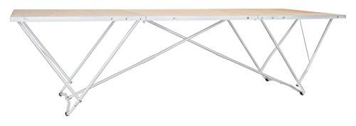 HYMER 685000 Tapeziertisch, 3m lang, 80cm breit