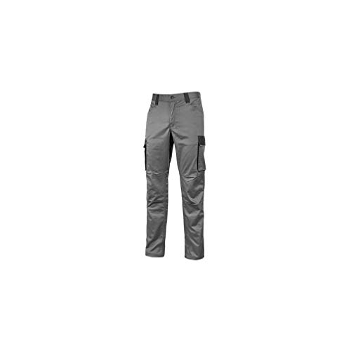 U-Power – werkbroek Cargo TC Stretch met twee grote zijzakken multifunctioneel – Crazy Grey Iron – HY141GI – U-Power