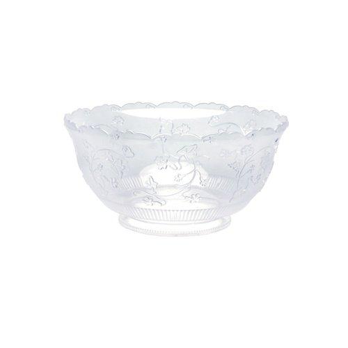 Party Dimensions - tazón de plástico (1 unidad), 8 qt. Punch Bowl, Transparente, 1