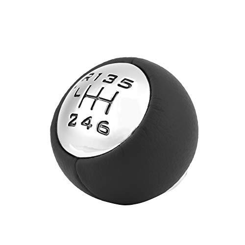 SpeedCar Pomo de cambio de marchas Bola de cambio Manual Palanca de cambio de marchas para Peugeot 307 308 3008 407 5008 807 Citroen C3 C4 C8